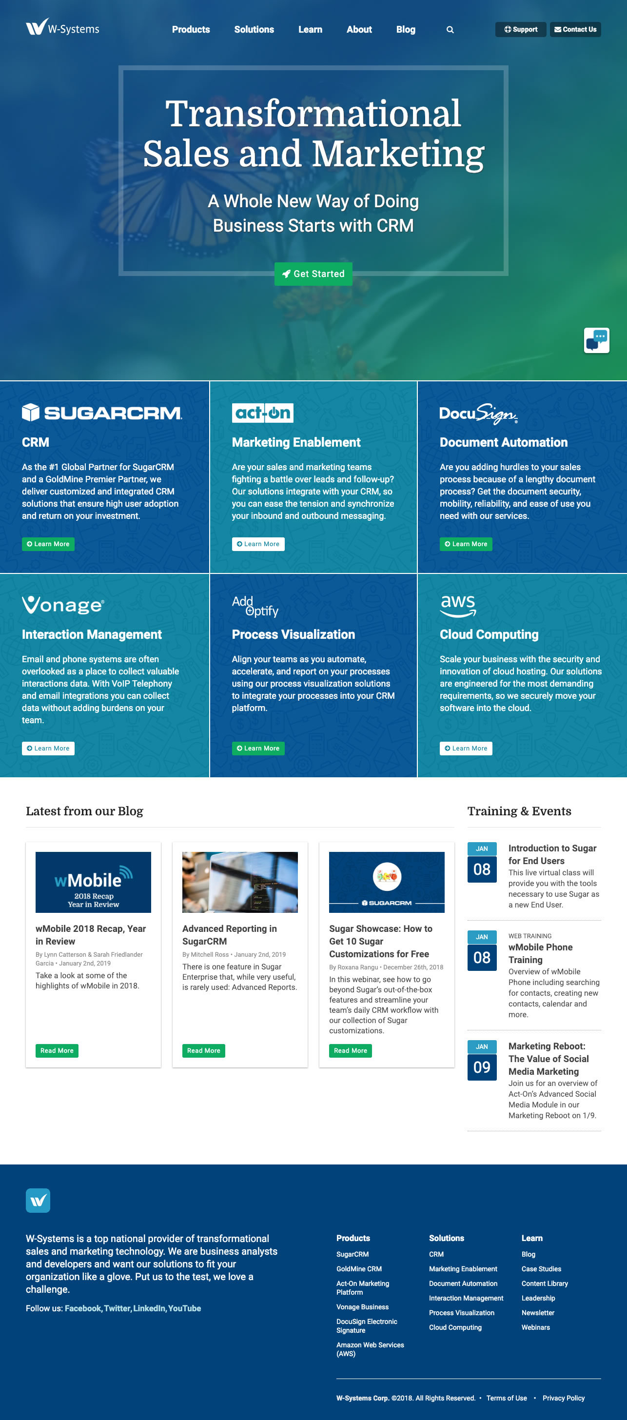 Wsystems Homepage